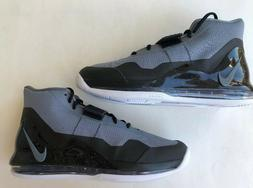 Nike Air Force Max Men's Athletic Basketball Shoes Grey Blac