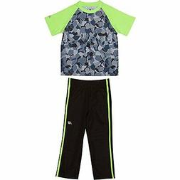 New Balance Childrens Apparel Baby Boys Athletic Tee and Pan