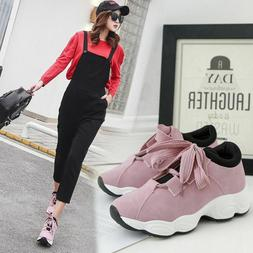 Flexible Running Shoes For Women Girls Rushed Air Breathable