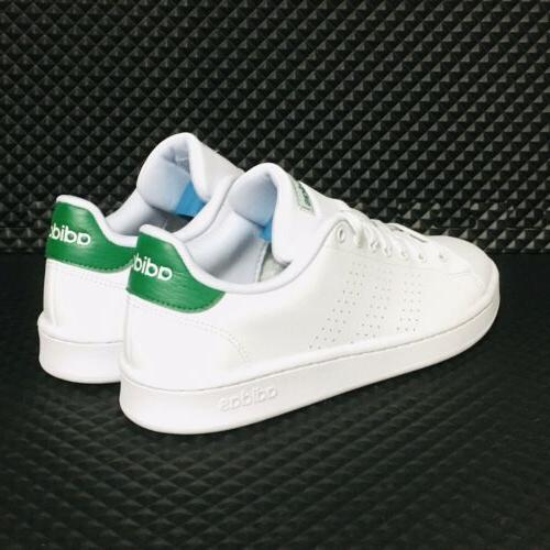 Casual White Green Running Sneakers