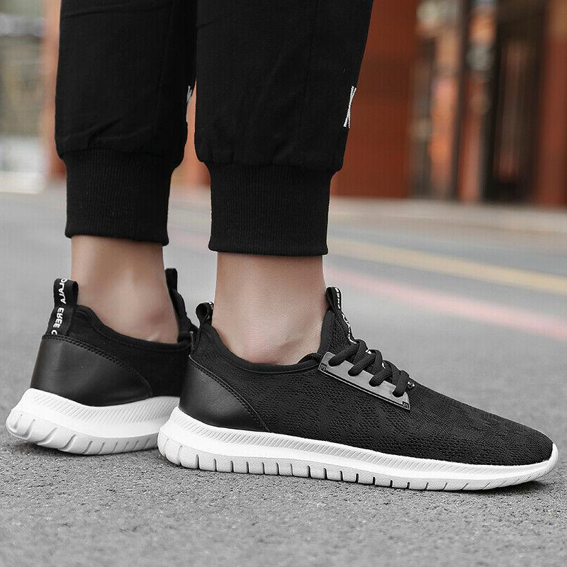 Men's Casual Sneakers Outdoor Walking Athletic Running Gym Shoes