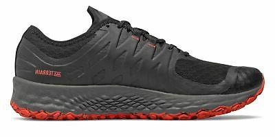New Balance Trail Shoes Black With Red