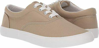 Amazon Men's Shoes Ronny Canvas Lace Up, Chino, 10.0