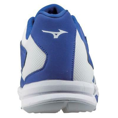 New Men's Mizuno Players Trainer Turf Cleats Size 7.5-14 Red Blue