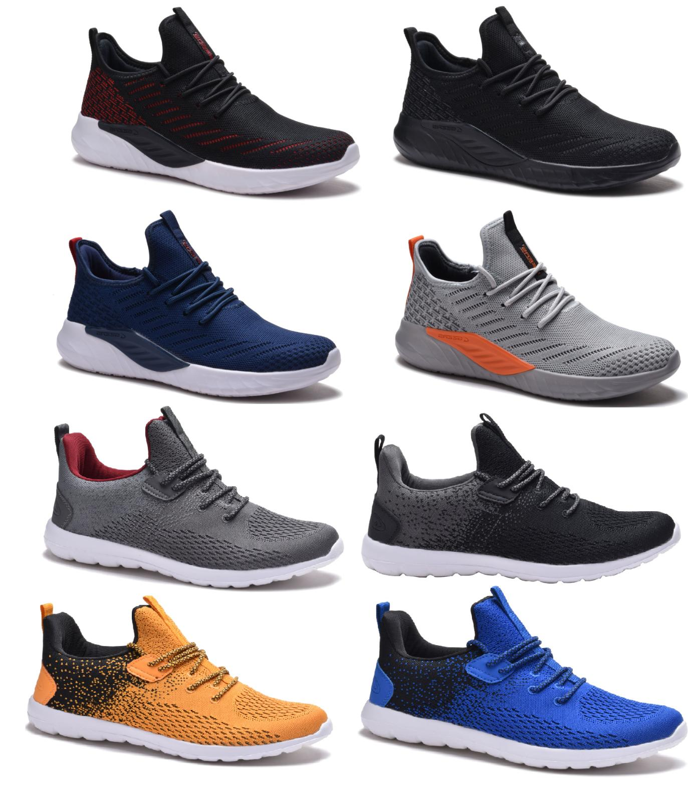 new mens athletic running shoes casual walking