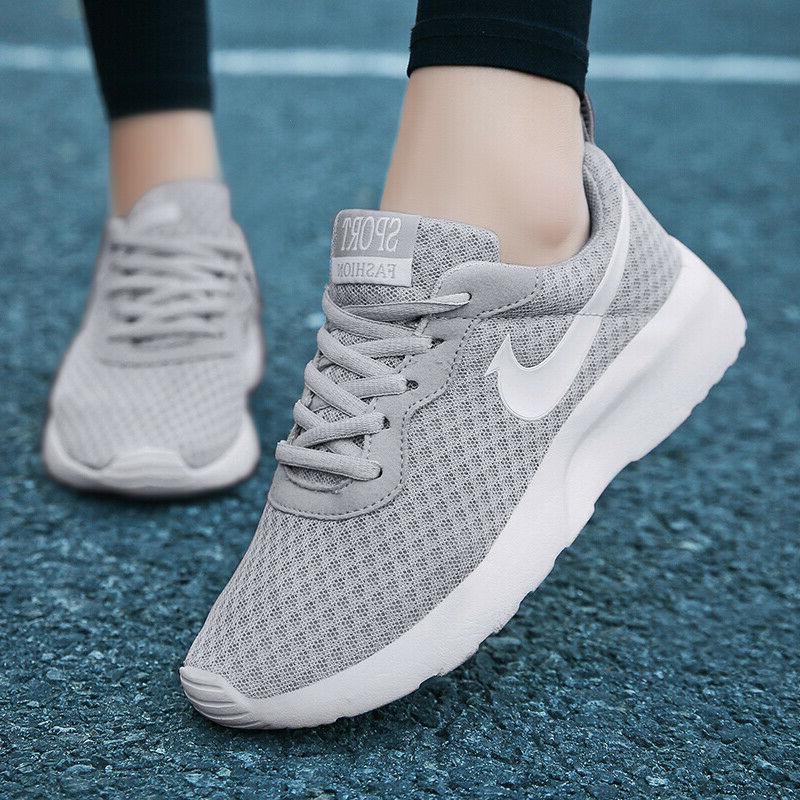 Men's Sneakers Sports Shoes Casual Flyknit Breathable Athletic