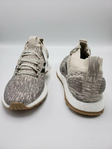 Adidas PureBOOST RBL Shoes Clear Brown Carbon Men's 10.5