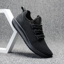 Men Running Shoes white Casual Athletic Sneakers  Gym Workou