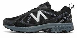 New Balance Men's 410v5 Trail Shoes Black with Grey
