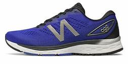 New Balance Men's 880v9 Shoes Blue with Black & Silver