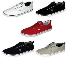 Mens New Russell Athletic Lace up Canvas Shoes Pumps Plimsol