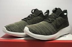 Nike Mens Size 10 Roshe Two Flyknit V2 Sequoia Olive Green A