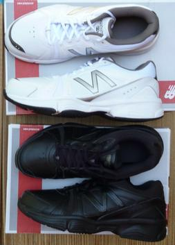 NEW BALANCE MX519BK or WG MENS LITE BLK or WHT WORK/PLAY ATH