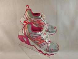 New Balance Shoes, Little Kids Girls Size 10.5 Wide, Silver/