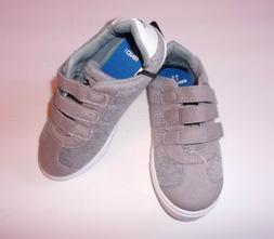 And1 Toddler Boys Grey And White Low Top Athletic Shoes Size