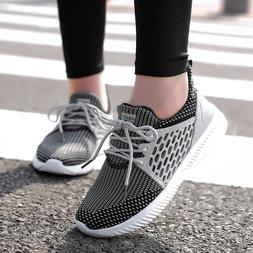 Women's Sneakers Breathable Athletic Sports Running Tennis C